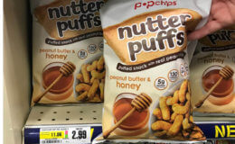 Up to 5 FREE Bags of PopChips Nutter Puffs at ShopRite! {Ibotta Rebate}