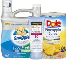 Today's Top New Coupons - Save on Snuggle, Dole, Neutrogena & More