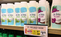 Better Than FREE St. Ives Body Wash at ShopRite!
