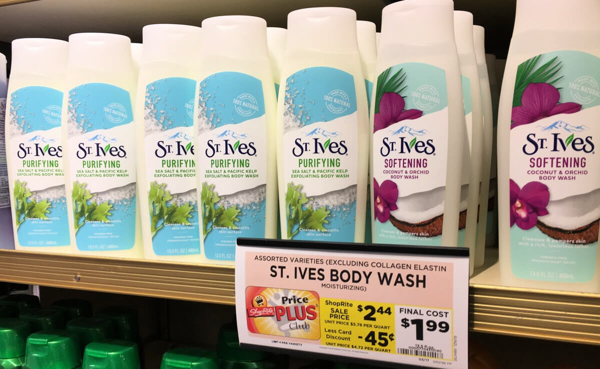 body wash coupons 2019