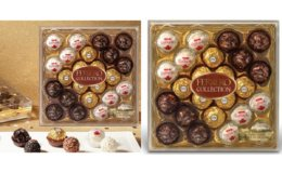 Ferrero Rocher Fine Hazelnut Milk Chocolates, 24 Count just $5.99  (Reg. $11.49)