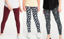 Today Only at Old Navy! Toddler, Girl's and Women's Leggings just $5 + $2 Tanks for Cardholders