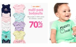 Carter's Baby Boom! 70% Off 5 Pack Bodysuits $7.80 (Reg. $26)