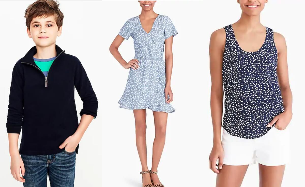 11fd0f6bd 70%+ Off J. Crew Factory Clearance Styles for the Family