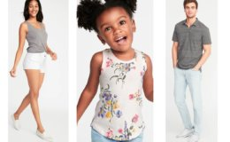 Today Only at Old Navy! $2 Girl's and Women's Tanks & $4-$5 Boys and Men's Polos