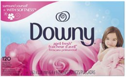 Stock up Price! 120-Ct Downy Fabric Softener Dryer Sheets