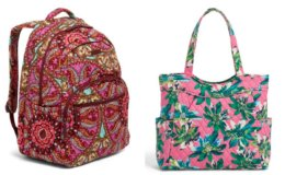 Vera Bradley Extra 30% Off Select Already Reduced Purses, Backpacks, Totes, and More + Free Shipping!