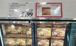 Costco: Hot Deal on Kirkland Signature Cheese Pizza!