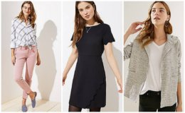 Extra 50% off Your Sale Purchase at Loft - Tops Starting at $5!