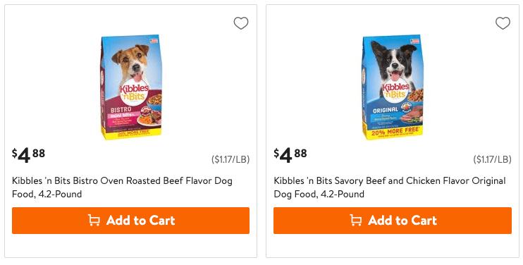 Print Kibbles N Bits Dry Dog Food Coupon