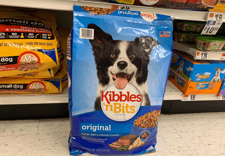 New 1 Kibbles N Bits Dry Dog Food Coupon Deals At Target Walmart