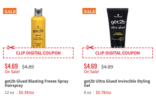 New $2/1 Göt2b Hair Product Coupon