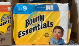 Bounty Essentials Paper Towels Just $0.67 Per Roll at Walgreens!