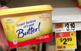 I Can't Believe it's Not Butter only $1.50 at Stop & Shop