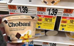 Chobani Greek Yogurt only $0.80 at Stop & Shop {4/26}