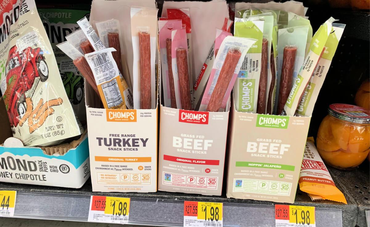 FREE Chomps Beef Sticks at Walmart! {Ibotta Rebate}Living