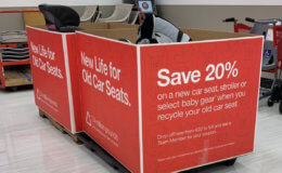 Get a 20% off Coupon After Target Car Seat Trade-In Event!