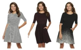 Apt. 9® Fit & Flare Dress Only $20 (org $50) at Kohls