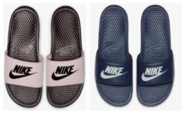 Nike Benassi Slides Only $15.18 (reg $25) with FREE Shipping