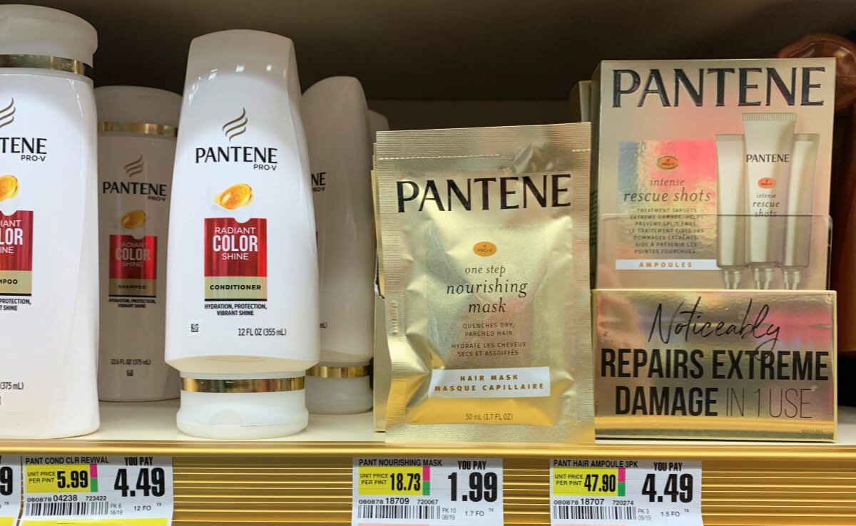 Get 9 Free Pantene Pro V Hair Mask Over 2 Money Maker