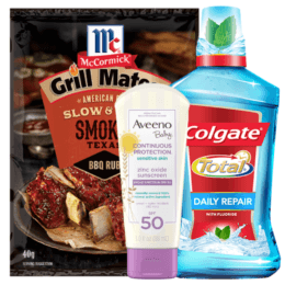 Today's Top New Coupons - Save on McCormick, Aveeno, Colgate & More
