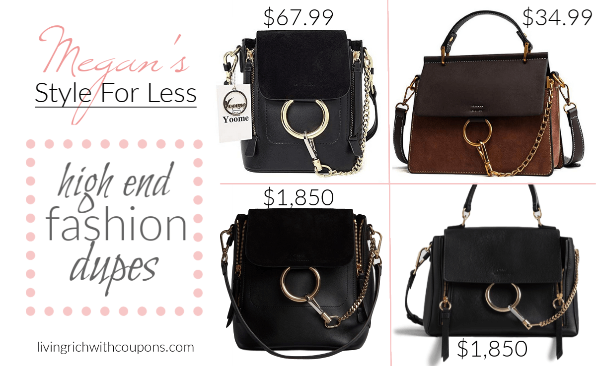 19b0a11075 I just had to find the best Chloe Bag dupes for the most popular bags they  had! You'll be shocked at the dupes I found.