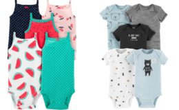 10-Ct Carter's Baby Girls & Baby Boys Body Suits for $16 or $1.60 Each at Kohl's