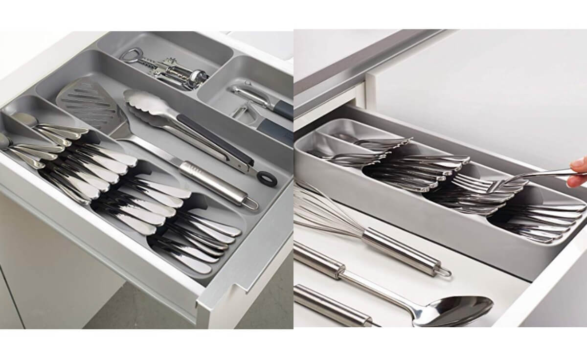 30% Off Joseph Joseph DrawerStore Kitchen Drawer Organizer Trays For  Cutlery, Utensils, And Gadgets