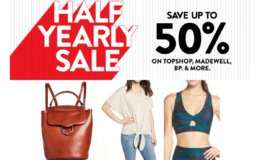 Nordstrom Half Yearly Sale Starts Now - Up to 50% Off
