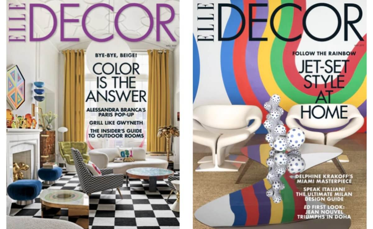 Elle Decor Magazine For Just 4 95 Per Year Living Rich With Coupons