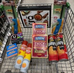 Publix Shopping Trip – 11 Items for $5.03