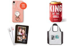Pick 4! FREE Phone Ring Holder, Reusable Shopping Bag, Can Cooler and/or Set of Cards at Shutterfly {Just Pay Shipping}