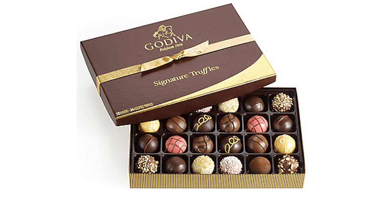 a3f4031d6683 National Truffle Day! 20% off select truffles at Godiva + Free Shipping  15+