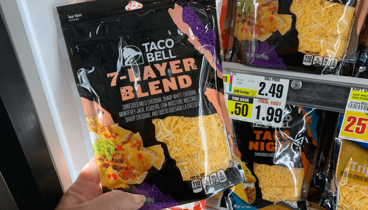 photo relating to Taco Bell Printable Coupons known as ShopRite 2 Working day Electronic Coupon - $0.99 Taco Bell Shredded