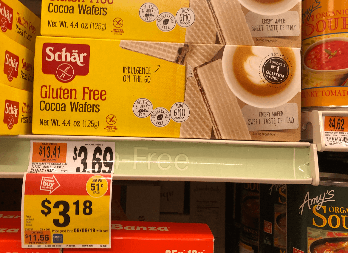 picture regarding Gluten Free Coupons Printable referred to as Schar Gluten Totally free Products and solutions, as lower as $1.18 at Conclusion