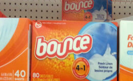 Bounce Dryer Sheets Less Than $0.02 a Sheet at Acme! {Rebate}