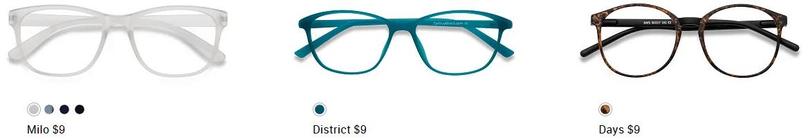 3957eaede05c0 BOGO Sale at Eye Buy Direct  Prescription Glasses Included Living ...