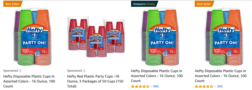 Clip an Extra 25% off Coupon for Hefty Party Cups on Amazon! |Living