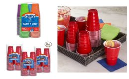 Clip an Extra 25% off Coupon for Hefty Party Cups on Amazon!