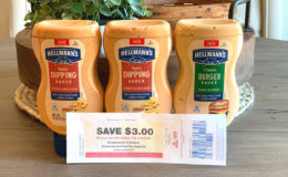 Confirmed ShopRite Catalina! Hellmann's Products Just  $0.33 each +  $3 in FREE Black Bear Deli