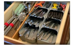 20% Off + Coupon on Joseph Joseph DrawerStore Kitchen Drawer Organizer Trays for Cutlery, Utensils, and Gadgets
