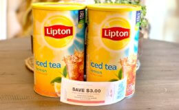 Update ShopRite Catalina! Lipton Iced Tea Mix, 28 Qt., Just  $1.99  +  $3 in FREE Black Bear Deli