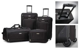 60% off American Tourister Luggage 4 piece Set on Amazon!