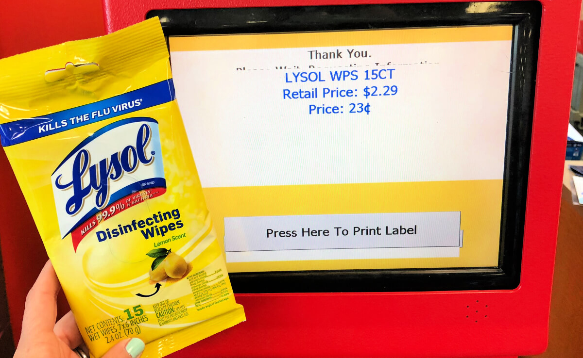 lysol disinfecting wipes only at cvs 90 off clearance living rich with coupons. Black Bedroom Furniture Sets. Home Design Ideas