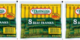 2 Days Only! Nathan's Beef Franks Just $0.99 at ShopRite!