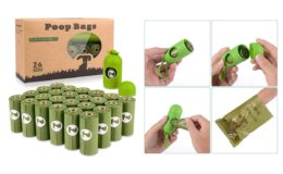 Extra 40% off Coupon: Dog Poop Bags 26 Rolls (390 Counts) with Dispenser {Amazon}