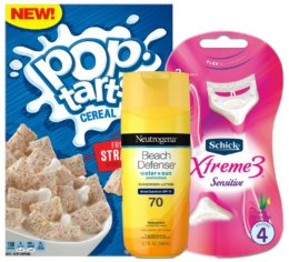 Today's Top New Coupons - Save on Kellogg's, Schick, Neutrogena & More