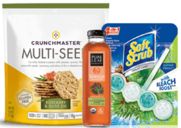Today's Top New Coupons - Save on Pure Leaf, Crunchmaster, Soft Scrub & More