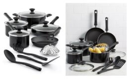 Tools of the Trade Nonstick 13-Pc. Cookware Set $39.99 (Reg$119.99) at Macy's!