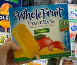 Whole Fruit Frozen Fruit Bars Just $0.99 at ShopRite! { 5/26}